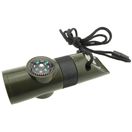 7 In 1 Survival Whistle With Led Light in US - 3