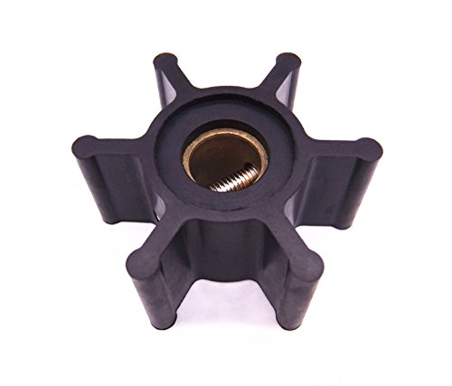 Yanmar Engine Parts (09-810B 18653-0001 653-0001 128990-42200 9-45713 Water Pump Impeller for Jabsco / Johnson / YANMAR Engine Pump)