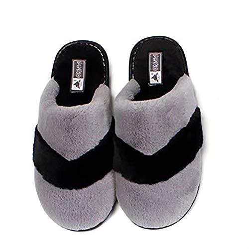 Banda Da Cotone Memory Artificiale Pantofole Casa Capelli Antiscivolo Di Foam Donna Calda Indoor Dytto Coniglio Brown fAtRO