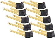 10 X 6 Stripes Slingshot Bands, Highly-Elastic Catapult Rubber Bands Slingshot Elastics Replacement Bands for