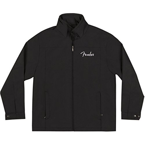 Fender Men's Jacket-Black-Large