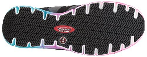 Skechers Womens Synergy-sandlot Stivali Da Lavoro Nero / Multi