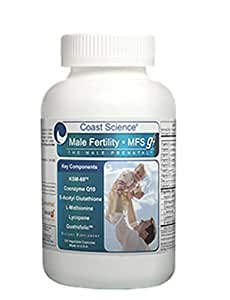 Male Fertility Supplement, 120 Vegetable Capsules