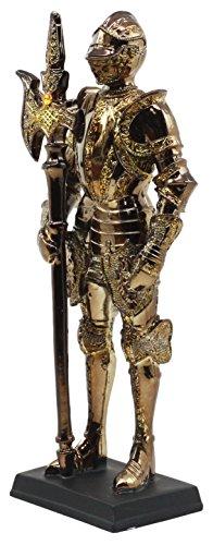 - Ebros Medieval Lion Halberdier Knight in Shining Armor Figurine 7