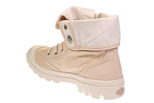 Palladium Damen Baggy Hohe Sneaker, Grau Fluisteren Roze Marshmallow