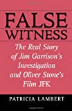 False Witness, Patricia Lambert, 0871319209