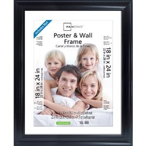 - Mainstays poster frame fits 22