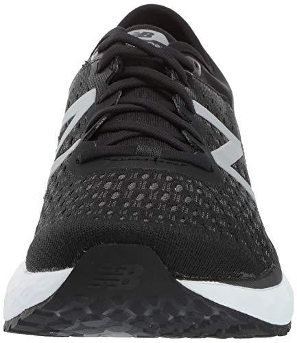 New Balance Men's 1080v9 Fresh Foam Running Shoe, Black/White, 7.5 D US by New Balance (Image #4)