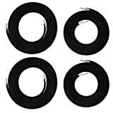 Zero Gravity Chair Replacement Cord Laces Antigravity Chair Replacement Cords Bungee Elastic Lawn Chair Code Patio Recliner Chair Repair Code Kit Nylon Stretch Cord for Outdoor, Lounge Chair – 4 Cords