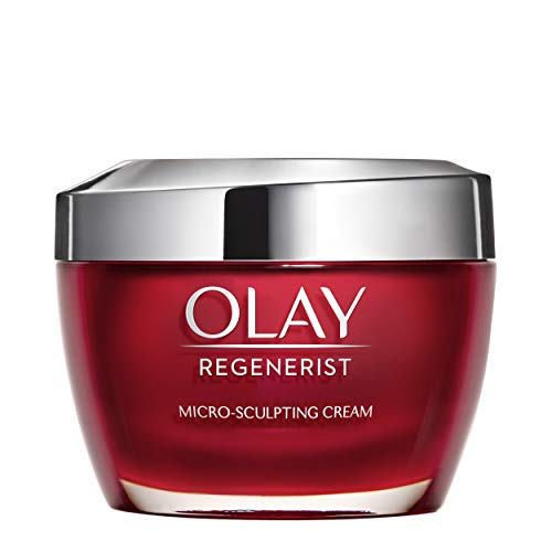 (Face Moisturizer with Collagen Peptides by Olay Regenerist, Micro-Sculpting Cream, 1.7 oz)
