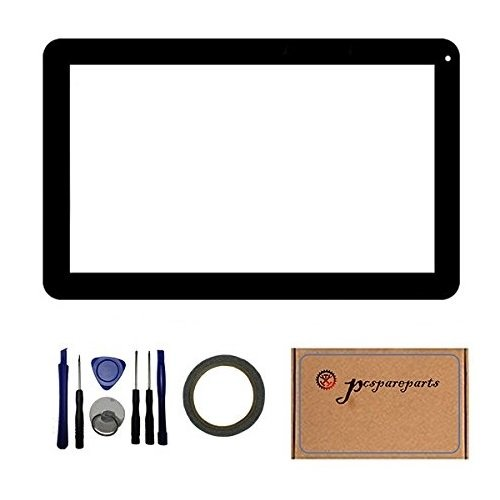 Pcspareparts Touch Screen Digitizer Panel for iRULU eXpro X1 Plus 10.1 Inch Tablet PC