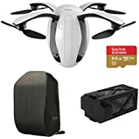 PowerVision PowerEgg Drone Kit with PowerVision Backpack, PowerVision PowerEgg Battery and SanDisk 64GB microSDXC Memory Card