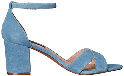 Suede Blue Madden Steve Dress Sandal STEVEN Voomme by Women's 0vWZp8