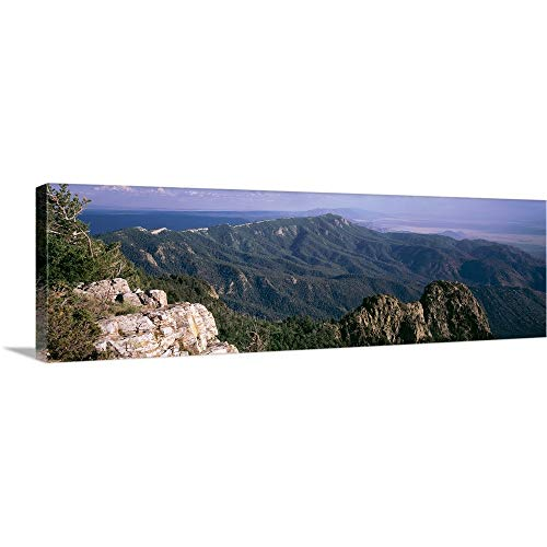 Premium Thick-Wrap Canvas Wall Art Print Entitled Sandia Mountains Albuquerque NM 36