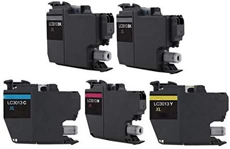 SuppliesMAX Compatible Replacement for Brother DCP-J572//J772//J774//MFC-J491//J497//J690//J890//J895DW High Yield Inkjet Combo Pack 2-BK//1-C//M//Y LC-3011XL-2BK1CMY
