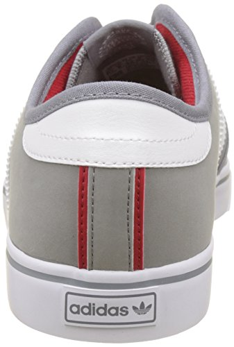 Adulte Chaussures White Gris grey footwear De Adidas Mixte scarlet Skateboard Seeley x75PXn4