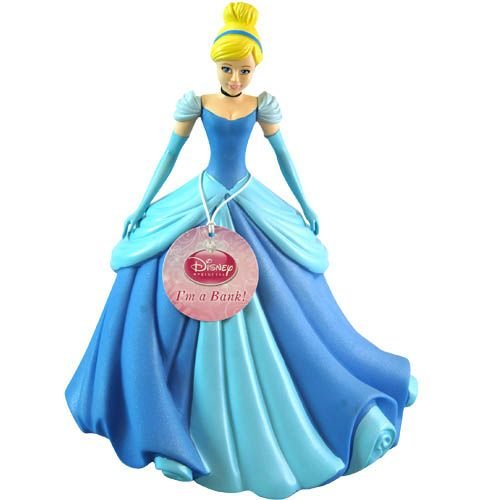 UPC 065540810830, New Style Durable Giant 11 Inch High Plastic Disney Princess Cinderella Coin Bank