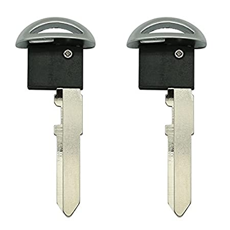 1 New Replacement Uncut Smart Emergency Key Blade for Mazda Scion Toyota