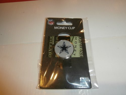 Aminco Money Clip (NFL Sports Team Raised Dome Logo Money Clip (Dallas Cowboys))