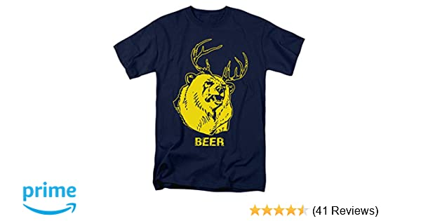 83a62c649 Amazon.com: It's Always Sunny in Philadelphia Beer Funny T Shirt &  Stickers: Clothing