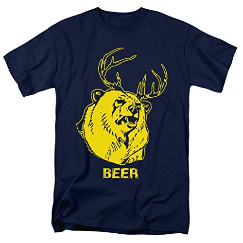 It's Always Sunny in Philadelphia Beer T Shirt & Exclusive Stickers (Large) Navy