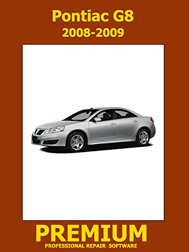 Pontiac G8 Colors (Pontiac G8 Repair Software (DVD) 2008 2009)