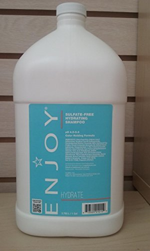 Enjoy Sulfate Free Hydrating Shampoo 128 fl (Hydrating Shampoo Gallon)