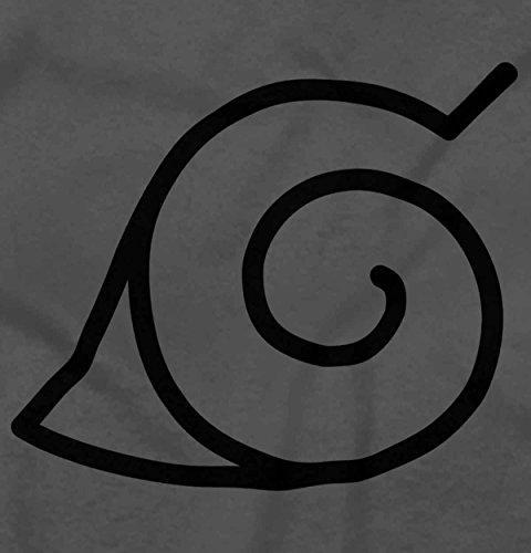 Brisco Brands Konoha Naruto Cute Kakashi Sensei Manga Gym Ninja Hoodie Sweatshirt by Brisco Brands (Image #1)