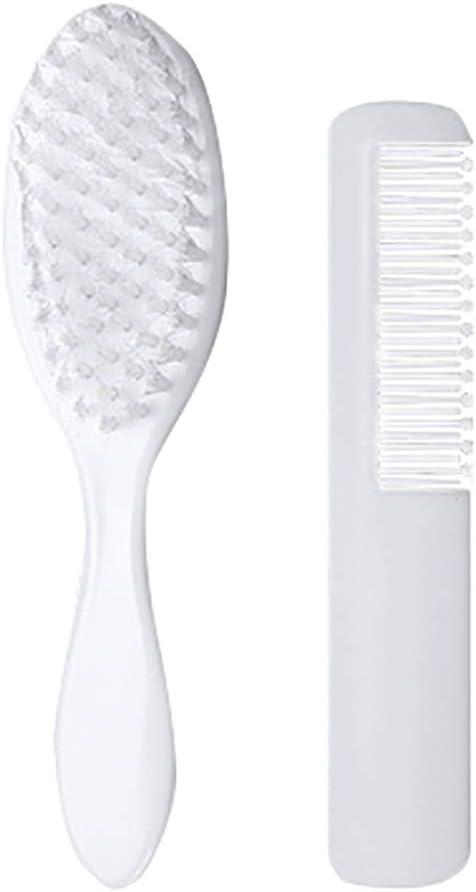 2pcs peigne b/éb/é et brosse Set enfants soins capillaires soft brosse /à cheveux t/ête