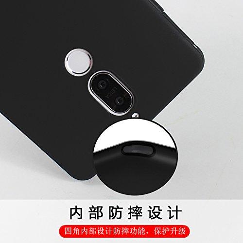 Cover para Huawei Mate 10 Lite , WenJie Pájaro Negro Accesorios Regalo TPU Silicona Suave Funda Case Tapa Caso Parachoques Carcasa Cubierta para Huawei Mate 10 Lite WM116
