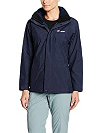 Berghaus Glissade III - Chamarra Impermeable interactiva para Mujer
