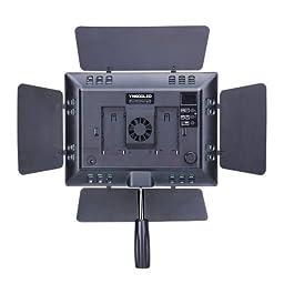YONGNUO YN600L LED Studio Video Light with Adjustable Color Temperature 3200K-5500K for the SLR Cameras Camcorders, like Canon Nikon Pentax Olympas Samsung Panasonic JVC etc.