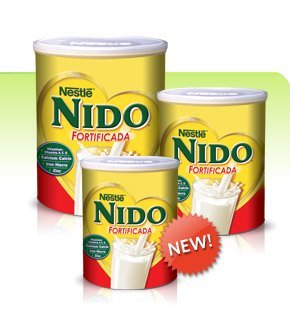 Nestle Nido Fortificada (Instant Milk), 3.52-Pound Container by Nido (Image #1)