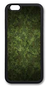 Military camouflage patterns TPU Silicone Case Cover for iphone 6 plus 5.5 inch Black by ruishername