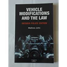 Vehicle Modifications and the Law: Ontario Police Edition