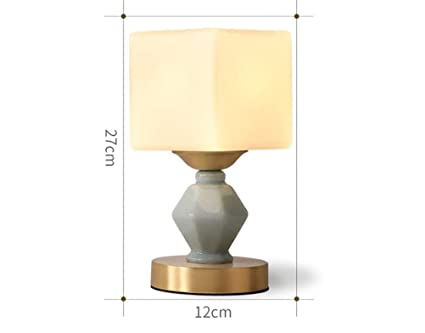 Amazon.com: PPWAN Table Lamp - Simple Household Desk Lamp ...