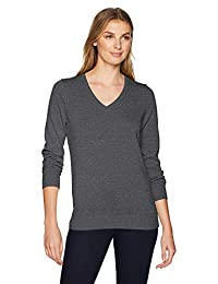 Amazon Essentials womens standard Lightweight V-neck Sweater