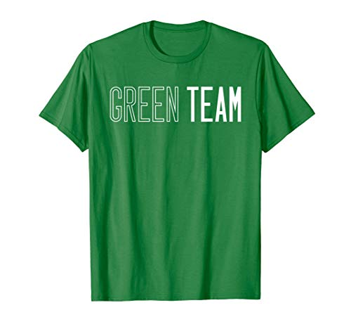 Green Team T-shirt Competition Sports Games Event Camp - Camp Carnival Shirts