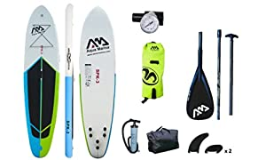 """Spk-3 Inflatable Stand up Paddle Board 10'10"""", Carbon Paddle, Leash, Drybag Comb from Aqua Marina"""