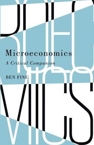 (Microeconomics: A Critical Companion)