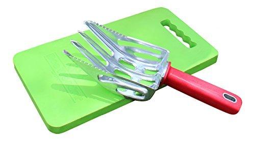 Dee Weeder - Hand Weeding Tool - Cast Aluminum Multi-purpose Garden Tool Set (DWEED1-K2) by DSD International
