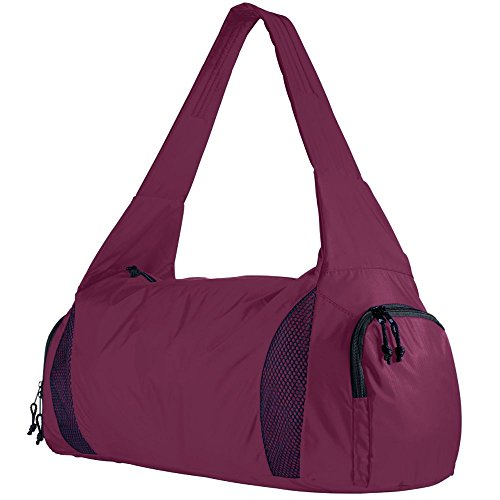 Augusta Sportswear Competition Bag with Shoe Pocket OS Maroon