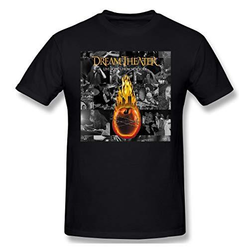 Eppedtul Dream Theater Live Scenes from New York Men's T-Shirt Black XXL ()