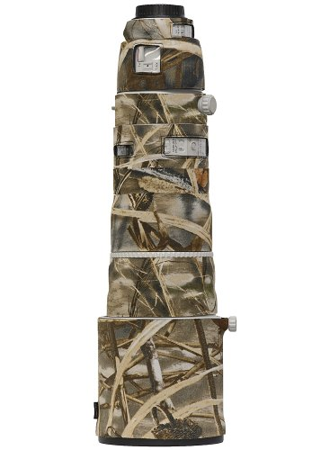 LensCoat lc200400m4 Lens Cover for Canon 200-400 IS f4 (Realtree Max4 HD) by LensCoat