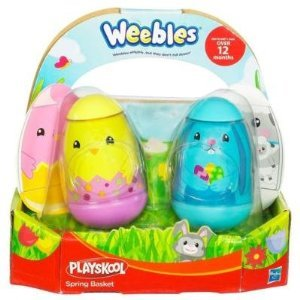 PLAYSKOOL WEEBLES Spring Basket (2-Pack) Bunny and Chick