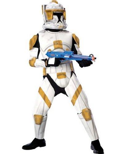 [Clone Trooper Costume - Small] (Clone Trooper Commander Cody Child Costume)