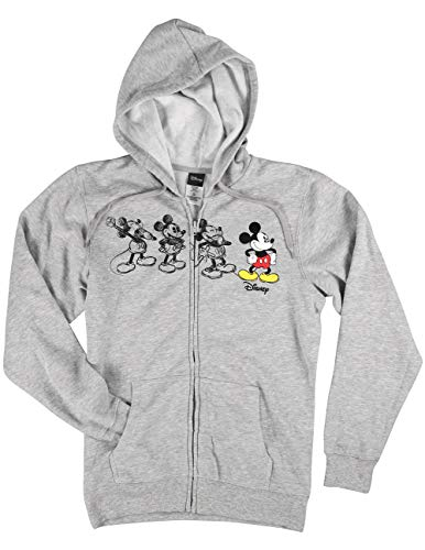 Mickey Mouse Classic Drawing Zip-up Hoodie, Officially Licensed]()