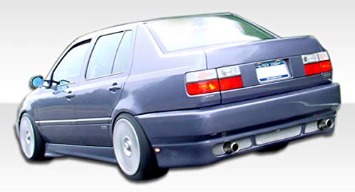 Compatible With/Replacement For Duraflex ED-ZYC-837 RS Look Rear Bumper - 1 Piece - Compatible With/Replacement For Jetta 1993-1998