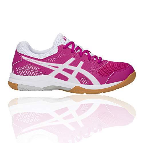 white Chaussures Asics Femme Rose Gel 8 708 De Volleyball pink rocket Rave txwavpqS