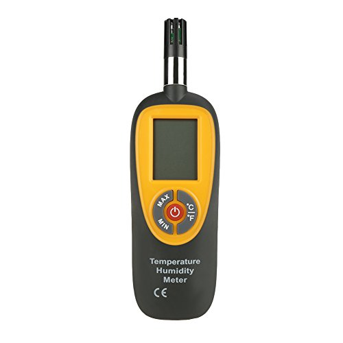 HT-96 LCD Digital Temperature Humidity Meter Thermometer Air Temperature Hygrometer by Hilitand